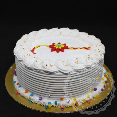 Rakhi Special Vanilla Cake