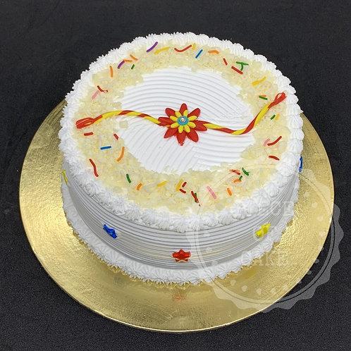 Rakhi Special White Forest Cake