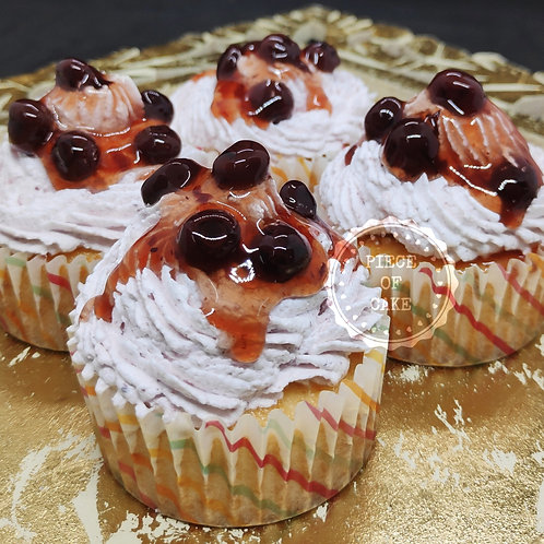 Blueberry Cup Cakes (Set of 4)