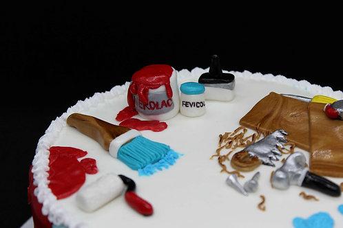 Oreo Birthday Cake (Interior Designer Theme)