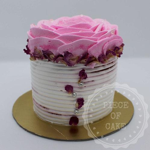 Red Velvet Mini Cake (Rose)