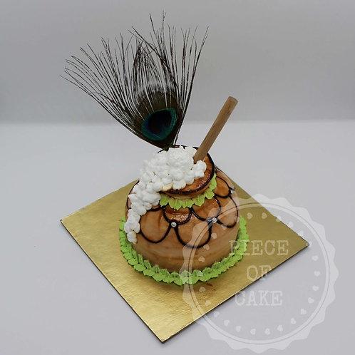 Janmasthami Special Gulkand Cake