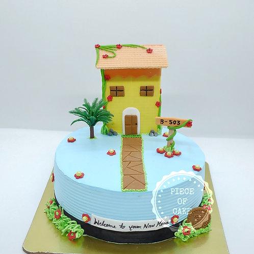 Housewarming Choco Chip Cake