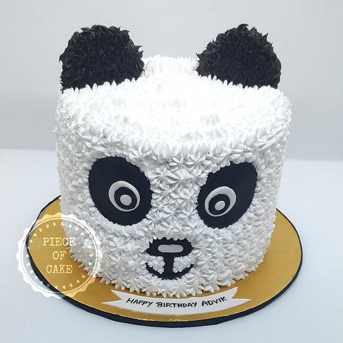 Panda Choco Vanilla Cake