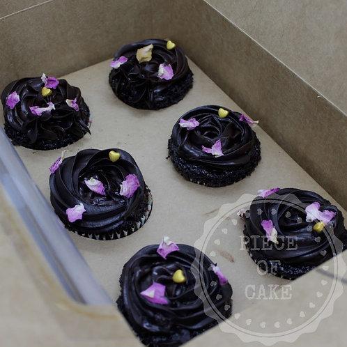 Choco Truffle Cupcakes (Set of 6)