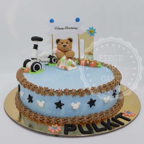 Designer Chocolate Truffle Cake