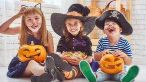 Halloween= muchos dulces y mucha cantidad de azúcar.
