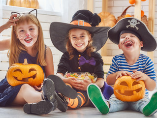 Holy Candy, Batman!  A Dietitian's Perspective On Enjoying Halloween With Kids