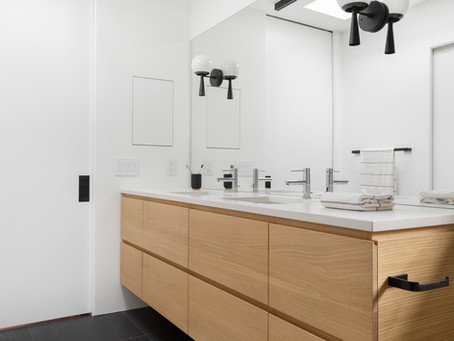 Reveal:  SW Modern Final Master Bathroom Design