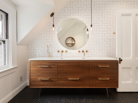 Fairhaven Mid-Century Bath Design & Inspiration