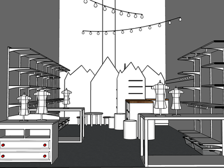 Behind the Scenes: The (Schematic) Design for Our Children's Boutique