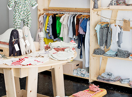 Behind the Scenes:  Inspiration for a Children's Boutique