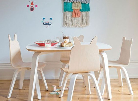 Behind the Scenes:  Furniture for a Children's Boutique