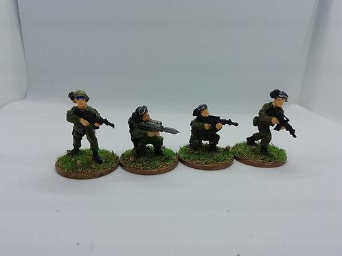 Italian Infantry Firing
