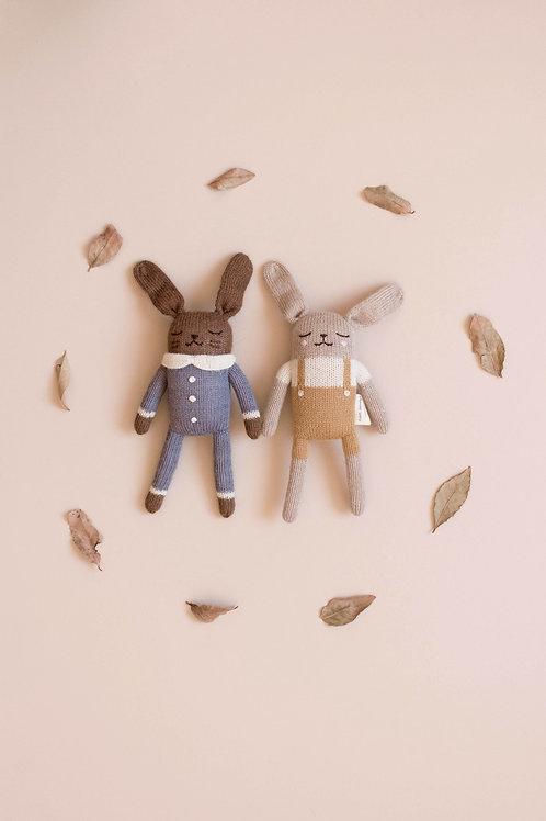 bunny knit toy