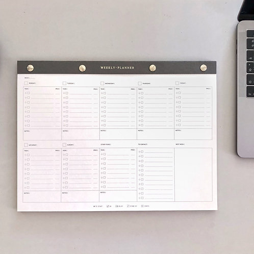 WEEKLY PLANNER · NOTEPAD