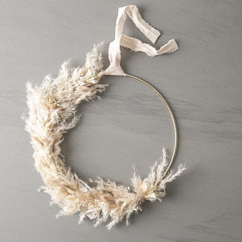 dried flower wreath Marie