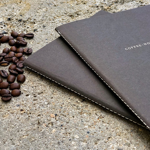 "Organic notebook ""coffee"""