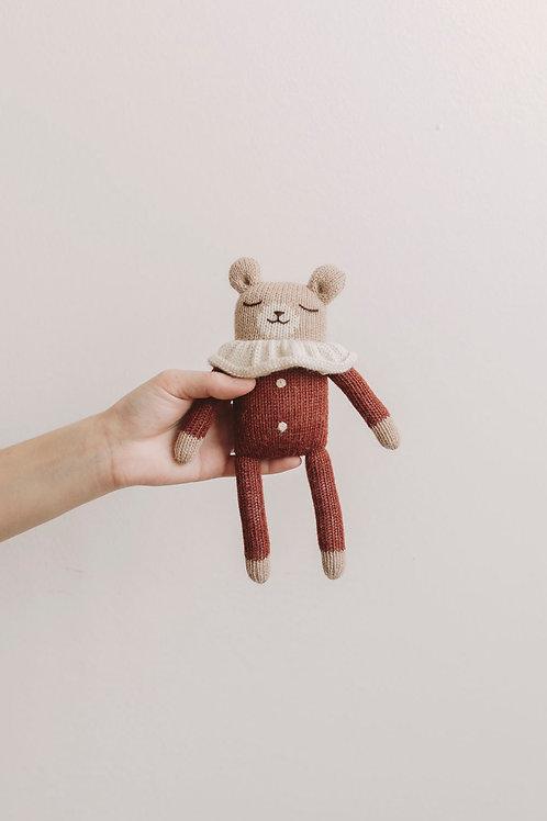 teddy knit toy