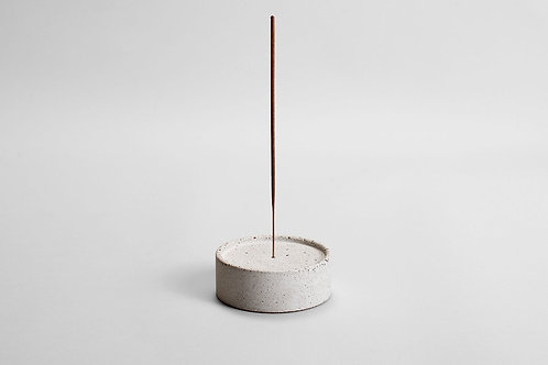 concrete incense holder
