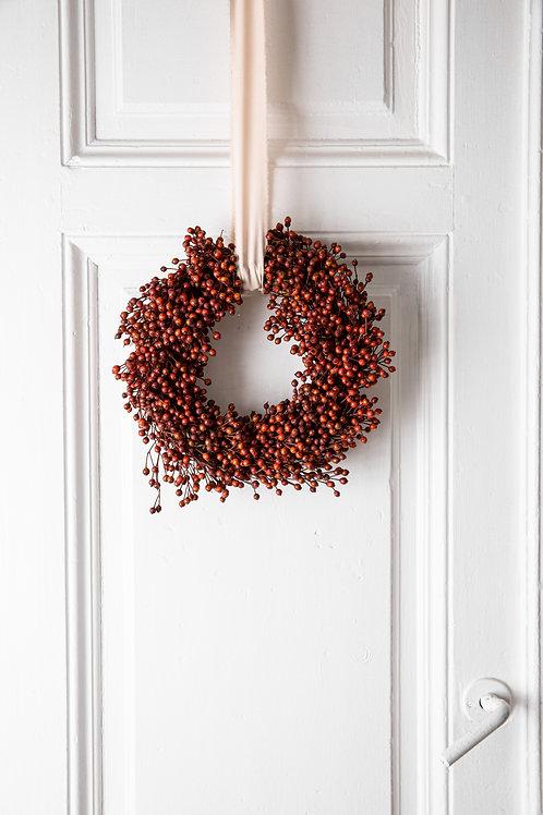 rozenbottle christmas wreath