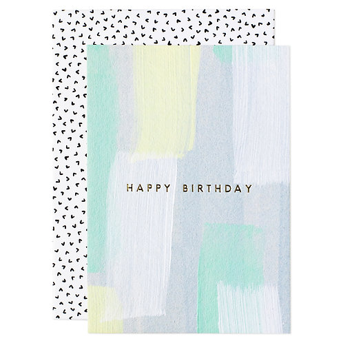 """HAPPY BIRTHDAY"" MINI CARD"