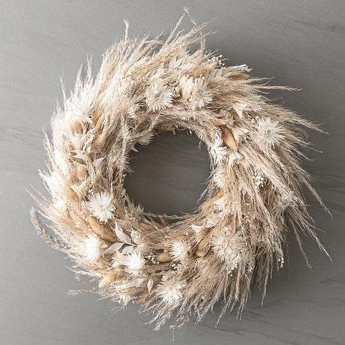unique Pampas wreath