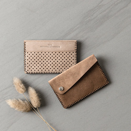naturally dyed wallet