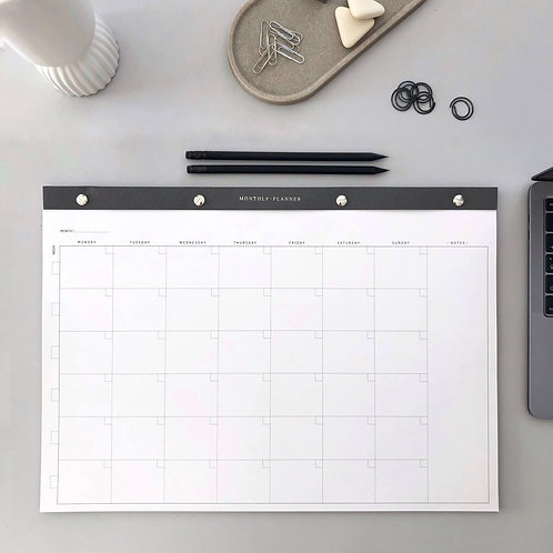 MONTHLY PLANNER · NOTEPAD