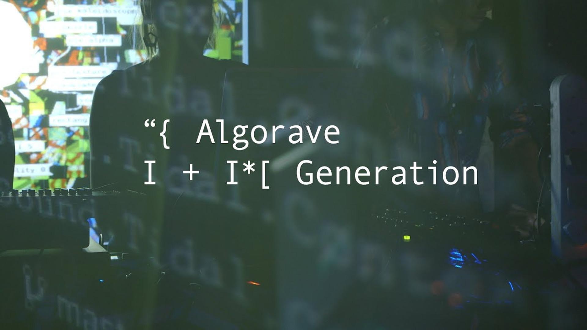 Algorave Generation