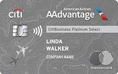 CitiBusiness-AA-Platinum-Select-card-art