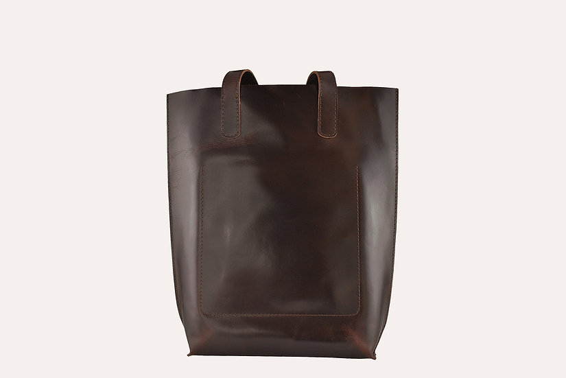 Structure Leather Tote
