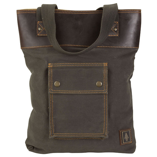 Damn Tote With Leather Accents