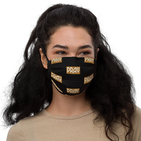 PRAY Face Mask With Pocket for Filter or Napkin