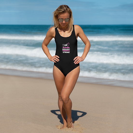 I AM BLESSED One-Piece Swimsuit