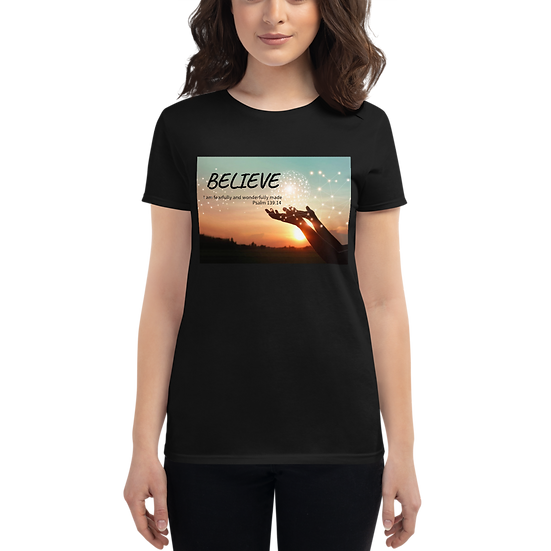 Believe WFMS Women's Short Sleeve T-Shirt