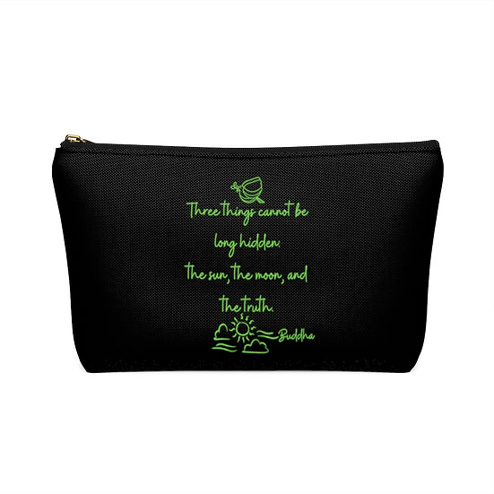 Three Things Large and Small Accessory Pouch w T-bottom