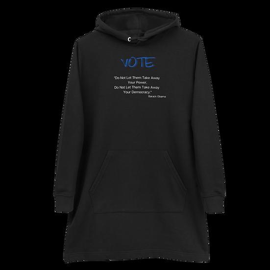 Vote MO Hoodie Dress,