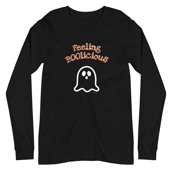 Feeling BOOlicious Unisex Long Sleeve Tee