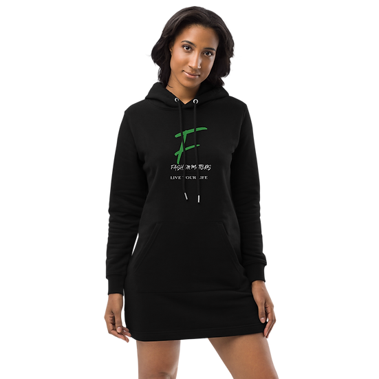 Fashion Matters Hoodie Dress, Eco-Friendly