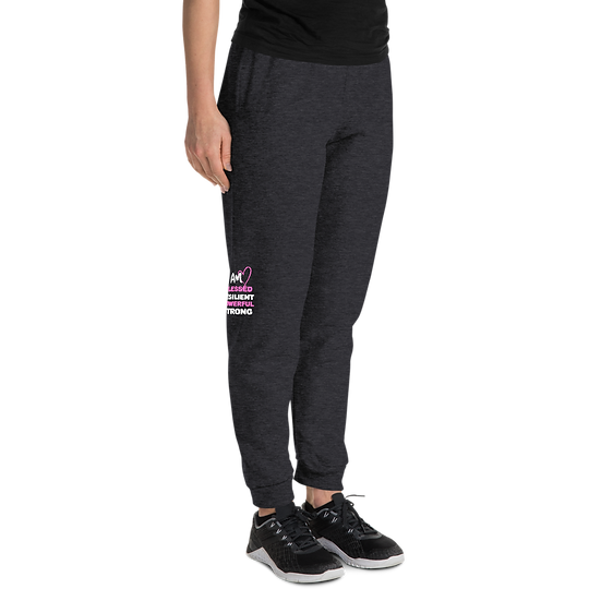 I AM BLESSED Left and Right side Printed Unisex Joggers