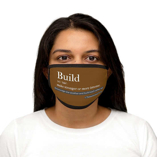 BUILD Mixed-Fabric Face Mask