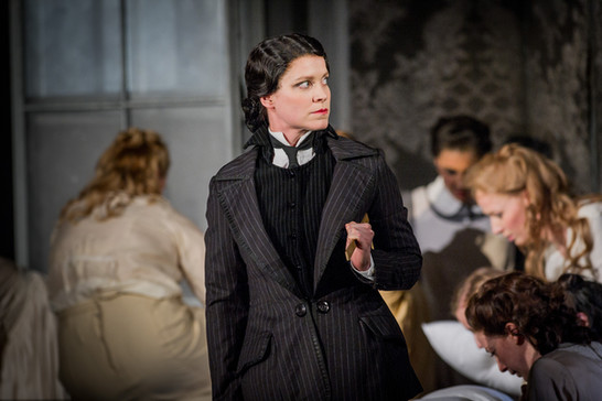 As The Governess in Queen of Spades, Grange Park Opera (photo Robert Workman)
