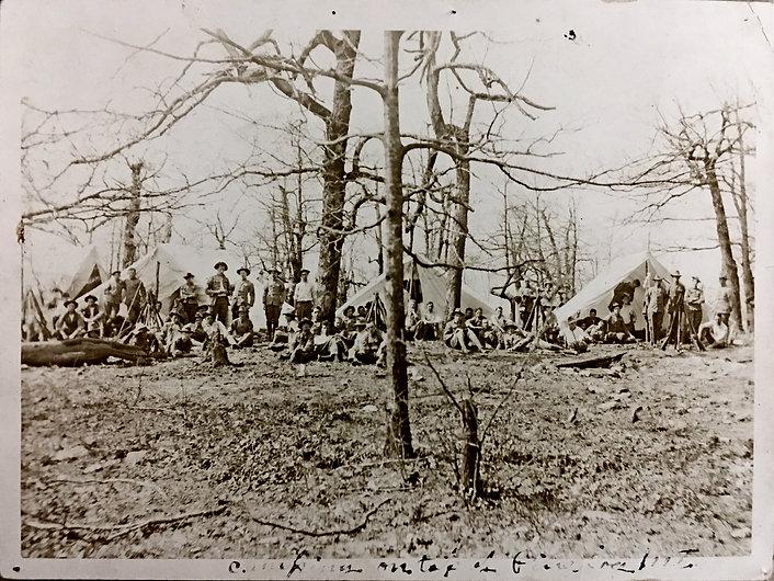 Reinhardt boys and tents.JPG