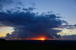 105/365 Ribble sunset
