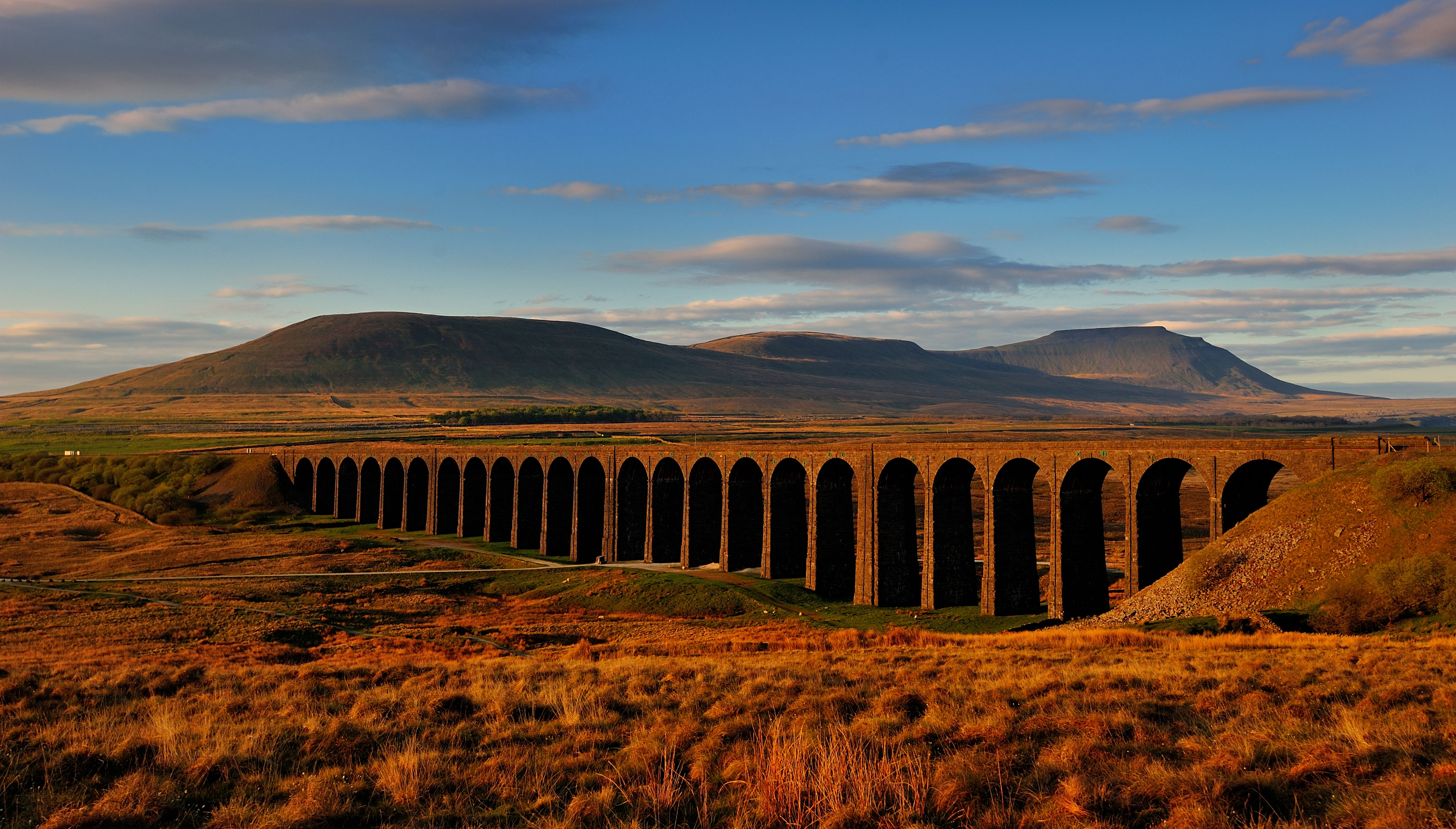 Ribblehead dawn