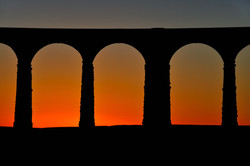 Arches of dusk