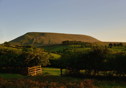 078/365 Sunset on Pendle Hill