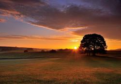 Sunrise in Malhamdale