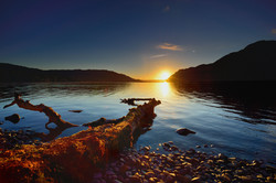Sunrise on Ullswater